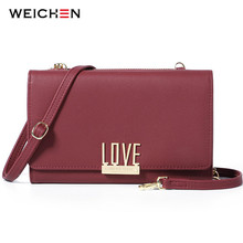 WEICHEN New Women Shoulder Bag Clutch & Handbags Ladies Many Departments Small Messenger Bags for Women Crossbody Bag Female weichen new designer women shoulder bag purse leather women messenger bags female clutch crossbody bag for ladies bolsa feminina