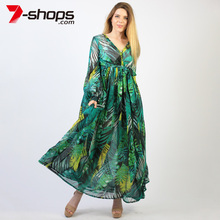 Ccibuy Women Maxi Dress Deep Tunic for Beach Party Dress Sexy Lady Bohemian Dresses Long Dress Summer Beach Female Vestido 2019 цены