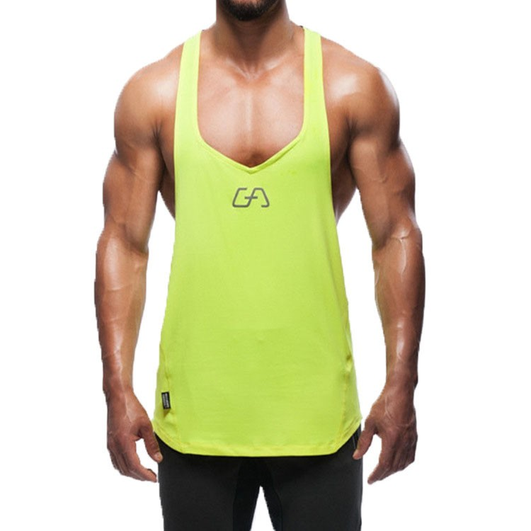 Gym Tank Top Men Undershirt Sports Wear GymShark Singlet Bodybuilding Men\'s Fitness Training Quick-drying Vest Sleeveless Shirt (8)