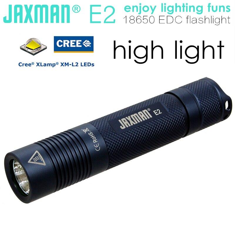 JAXMAN E2 CREE XML2 U2 18650 LED flashlight torch camping cycling outdoors mejores fotos hechas en photoshop