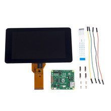 Official Raspberry Pi Foundation 7″ Touchscreen LCD Display