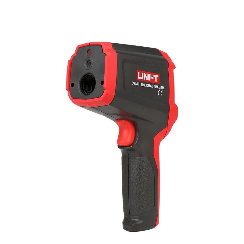 UNI T uti80 ручной Термальность изображений Камера инфракрасный термометр Imager 30c ~ 400c градусов 4800 Пиксели uti80 двойной лазерная точка
