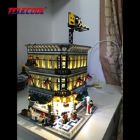 LED Light Up Kit For Grand Emporium Model Building Kit Toy Compatible With Lego Creator Series