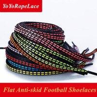 2017 New Hot Sale Flat Shoe Laces Anti Skidding Shoe Laces Sport Shoelaces Football Shoe Laces
