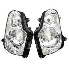 Faro de la motocicleta Para Honda Goldwing GL 1800 2001 2002 2003 2004 2005 2006 cabeza frontal cubierta de la luz