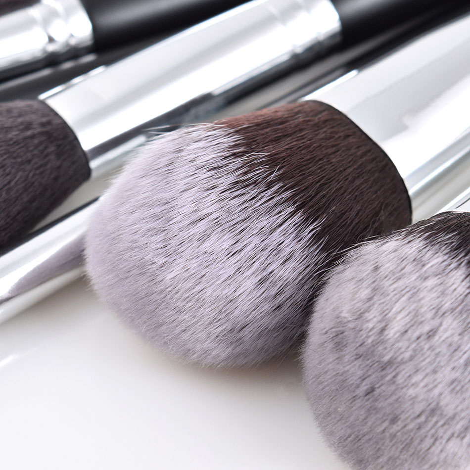 Image 3 - JAF 24pcs Makeup Brushes Tools 100% Vegan Make Up Artist Kit Brushes for Makeup Professional Brush Set #J2425YC B-in Eye Shadow Applicator from Beauty & Health