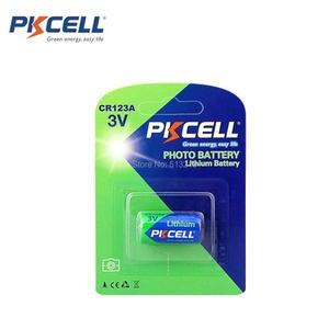 Image 3 - 24 Chiếc/Thẻ PKCELL 3V CR123A 2/3A Pin CR123A CR123 CR 123 CR17335 123A CR17345(CR17335) 16340 Pin Lithium 3V Pin