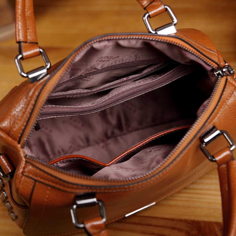 Luxe Merk Handtassen Vrouwen Tassen Designer Lederen Tassen Voor Vrouwen 2020 Messenger Casual Schoudertassen Bolsa Feminina T12