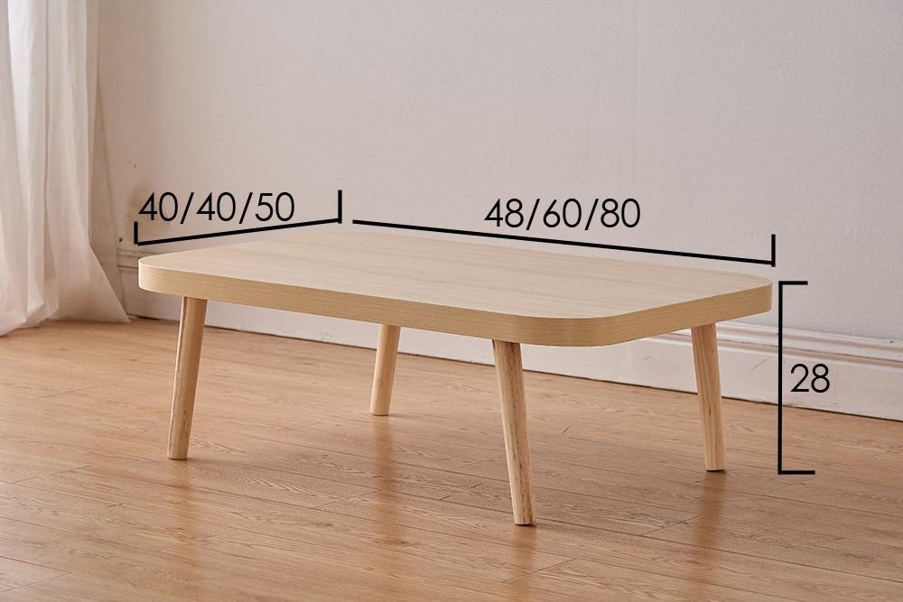 60 * 40 * 28 daudzfunkcionāli kafijas galdiņi pie naktsgaldiņa - Mēbeles - Foto 6