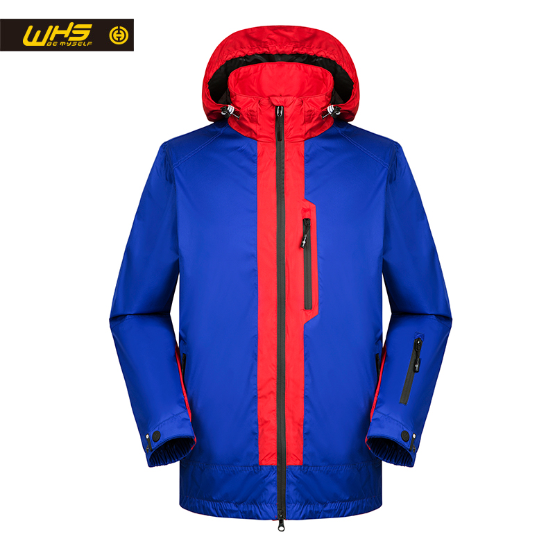 WHS hot sales high quality New Jacket men Autumn outdoor hiking coat Windbreaker large clothes Hot models Spring males jacket new hot sales mens jeans slim straight high quality jeans men pants hip hop biker punk rap jeans men spring skinny pants men