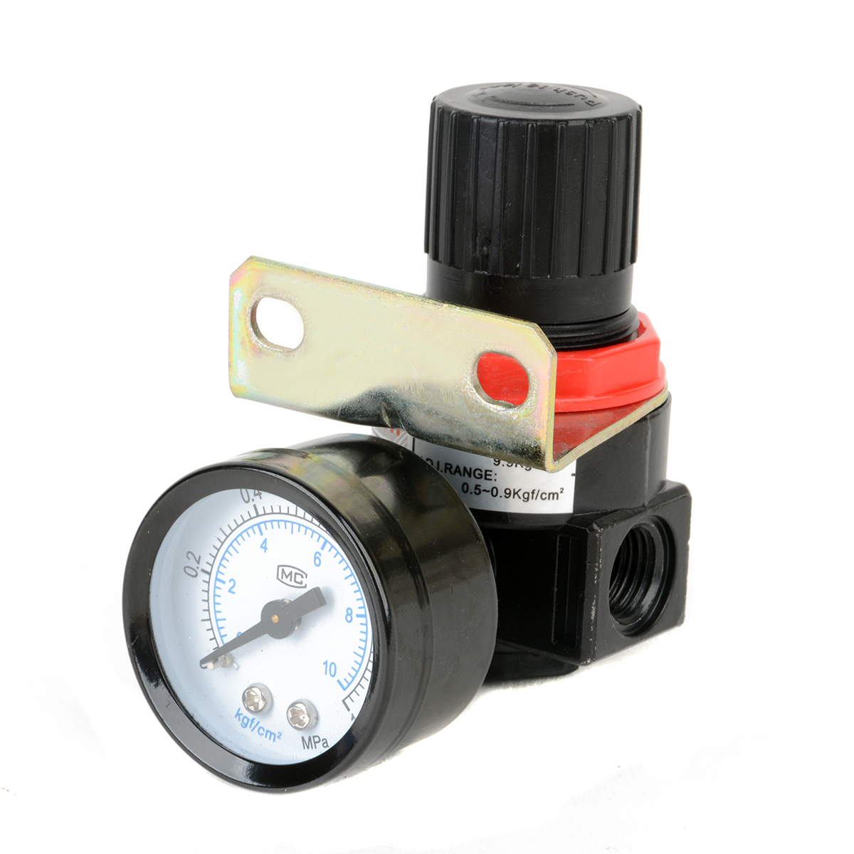 1pc Air Compressor Pressure Regulator Valve Air Control Pressure Gauge Relief Regulator 75x40x40mm 1pc air compressor pressure regulator valve air control pressure gauge relief regulator 75x40x40mm