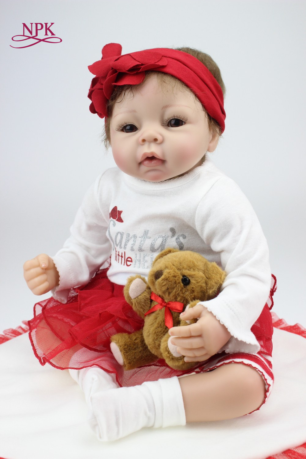 NPK reborn doll with softwholesale realistic simulation reborn baby doll soft silicone vinyl real gentle touch newborn doll alive reborn doll with soft real gentle touch wholesale realistic simulation reborn baby doll soft silicone vinyl
