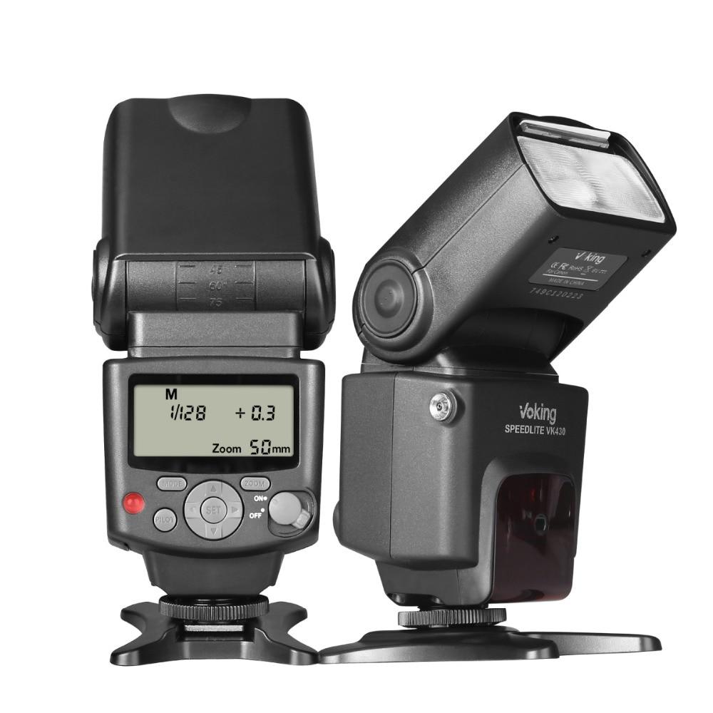 Voking VK430C TTL Speedlight Camera Flash for Canon 1300D 5D 5D3 6D 7D 70D 60D 550D 600D 650D 750D 800D 1100D 1500D DSLR Cameras