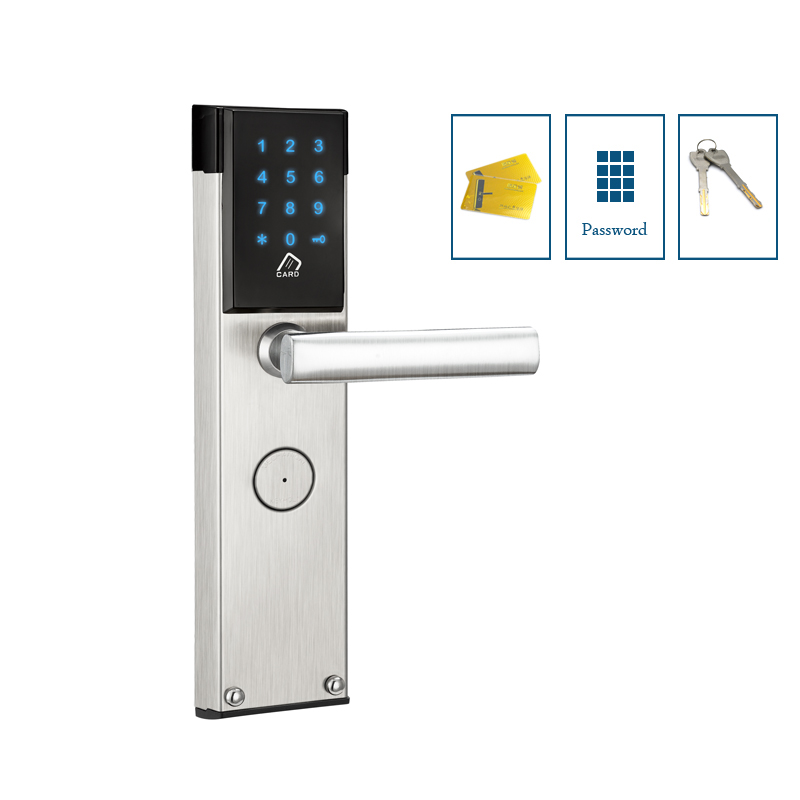 Высокий уровень безопасности keyless дом замок Электрический Пароль замок с M1 card reader