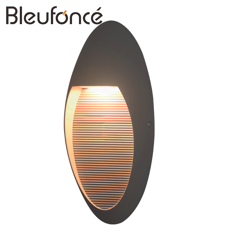 Outdoor Waterproof LED Wall Lamp Porch Garden LED Wall Light Lighting Modern Simple Aluminum Wall Sconce Outdoor Wall Lamps BL58 outdoor wall lights simple modern wall light waterproof led wall lamp luxury villa aluminum wall lamps hallway art deco lighting