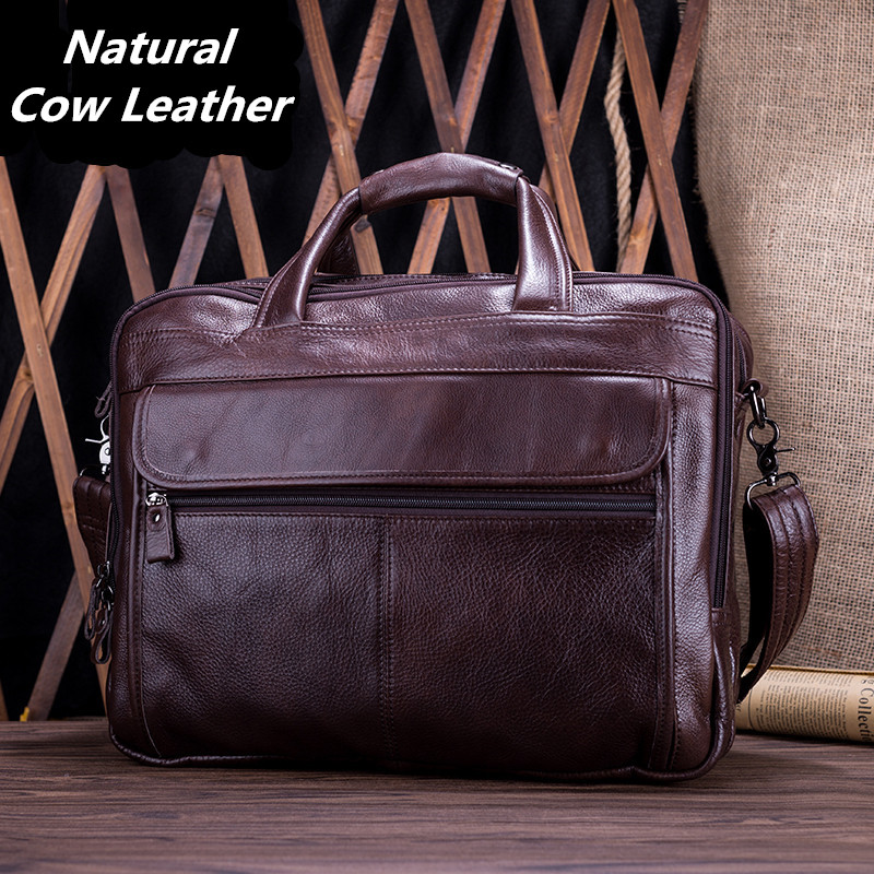 Vintage Real Genuine Leather Men's Travel Bags 3 Layers First Layer Cowskin Men Handbag 15 Laptop Bag Short Trip Travel Bag vintage 100% natural genuine leather bag big volume 3 layers men leather handbag 15 laptop bag briefcase soft cowskin handbags
