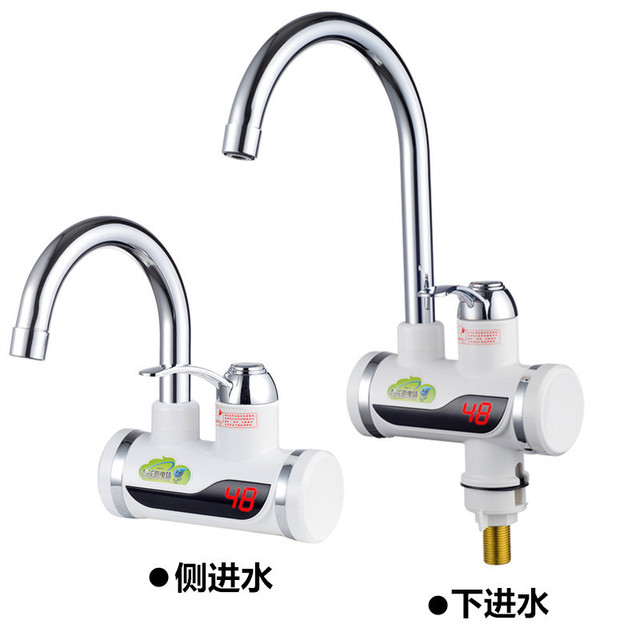 Electric Instant Faucet Mini Kitchen Hot Water Heating Machine Overheated Kitchen  Heater 3 Seconds Quick Thermoelectric