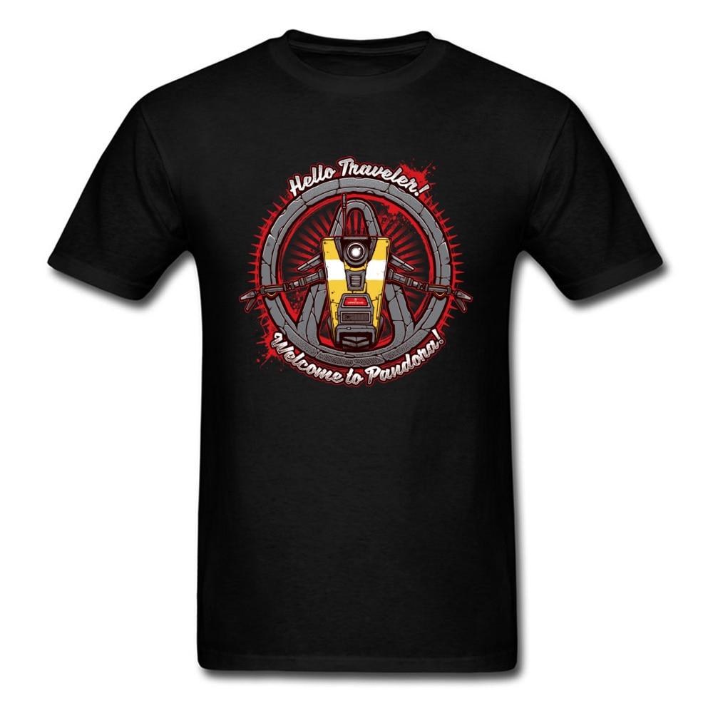 Retro PC Game Tshirt Men Summer New Product Good T Shirts Hello Traveler Machine AF Mens Sim Fit T-Shirt Wholsale Online