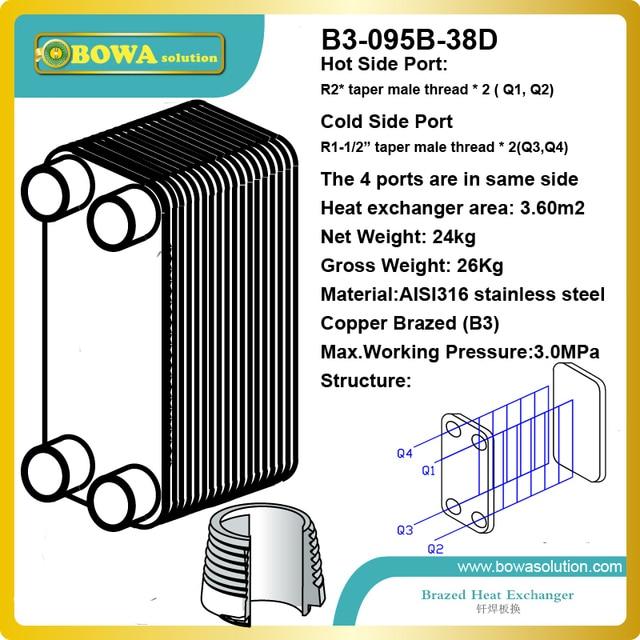 41 5kw rohwasser zu destilliertem wasser aisi316l. Black Bedroom Furniture Sets. Home Design Ideas