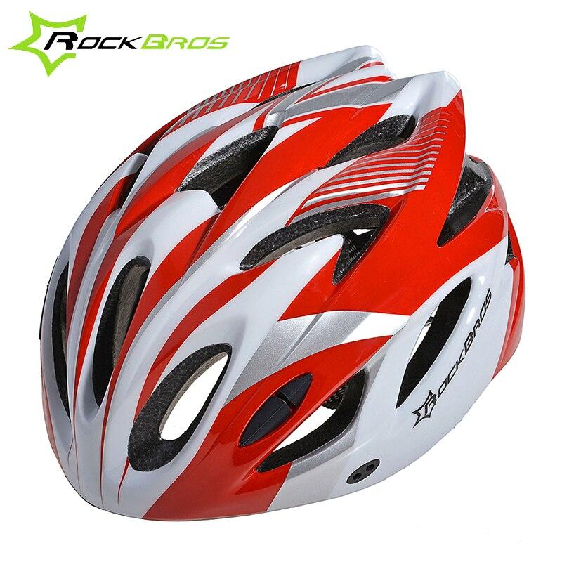 Цена за новый ROCKBROS Велоспорта мужский женский шлем EPS сверхлегкий MTB горный велосипед шлем безопасности комфорт шлем одинаковый размер, 7 цветов