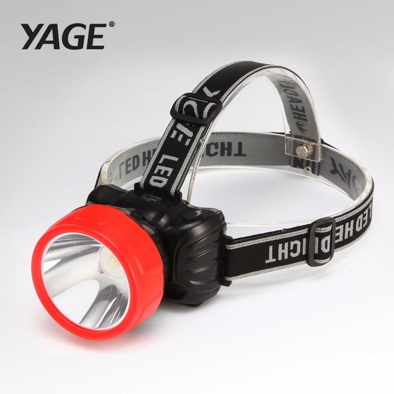YAGE LED žarometa za ribolov žarometov vodoodporna glava baklo svetilka glavo žarnica akumulatorska baterija Mini LED kolo glavo luči