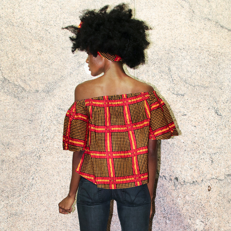 African blouse for Women fashion top traditional clothing african clothes women print shirt top vacation clothes plus size in Africa Clothing from Novelty Special Use