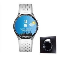 Best price smart watch original Kingwear smartwatch with heart rate monitor 3G wifi 4GB/ROM wrist phone VS i8 i4 for Samsung s3