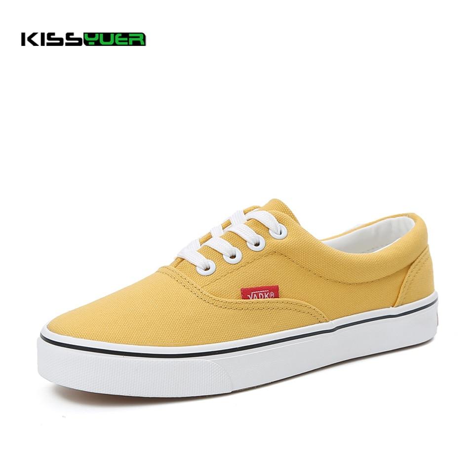 Ayakk.'ten Kadın Topuksuz Ayakkabı'de KISSyuer Yeni beyaz kanvas ayakkabılar kadın bahar ve yaz beyaz ayakkabı kadınlar rahat ayakkabılar öğrencileri nefes yürüyüş ayakkabısı KSE181'da  Grup 1