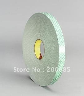 100% Original 3M 4026 two sided pe foam adhesive tape white color 20mm*33M 5rolls/lot/ 1.6mm thickness original contec dio 3232l pe