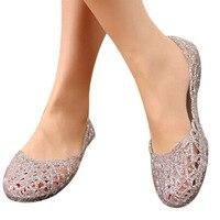 Women's Sandals 2018 New Summer Women Shoes Casual Jelly Tenis Feminino Mesh Flats Sandalias Femininas Fashion Women Sandals 1