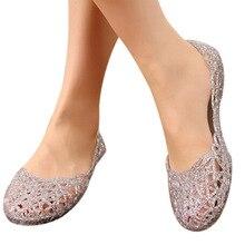 Women's Sandals 2018 New Summer Women Shoes Casual Jelly Tenis Feminino Mesh Flats Sandalias Femininas Fashion Women Sandals