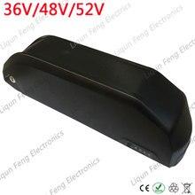 Новейший Hailong супер Акула вниз трубка для электровелосипеда чехол для батареи 36V 48V 52V для электровелосипеда чехол 10S5P 13S5P 14S5P с держателем для сотового телефона