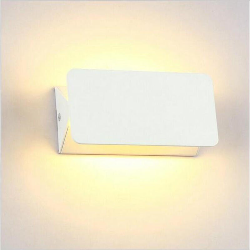 Weiss Shell LED Up Down Wandleuchte 8 Watt COB Spot Bad Leuchte Beleuchtung Halle Porch Gehweg Schlafzimmer Wohnzimmer Startseite