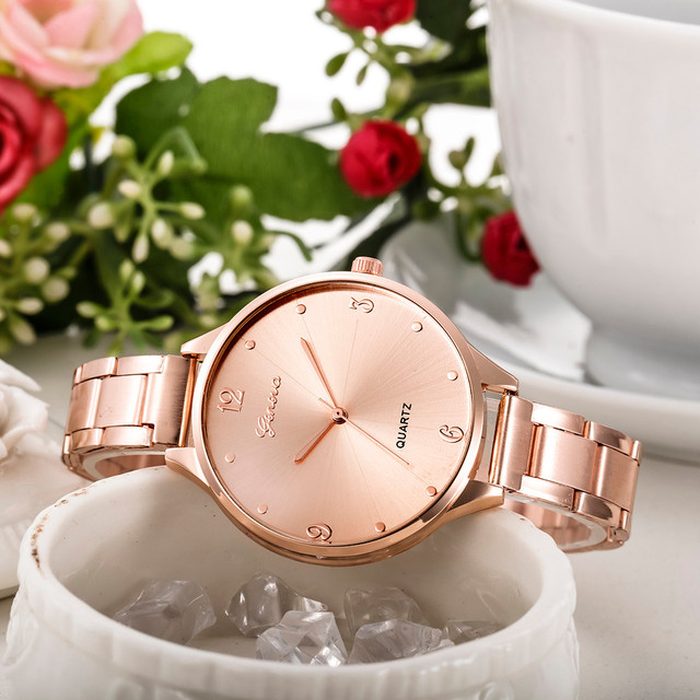 Fashion Watch Women Crystal Stainless Steel Analog Quartz Wristwatch Bangle Bracelet reloj mujer montre femme Relogio M0505