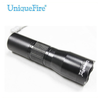 UniqueFire 1200 Lumens Flashlight S2 XML T6 Waterproof Lamp Torch Zoom 3 Modes Cold White Aluminum