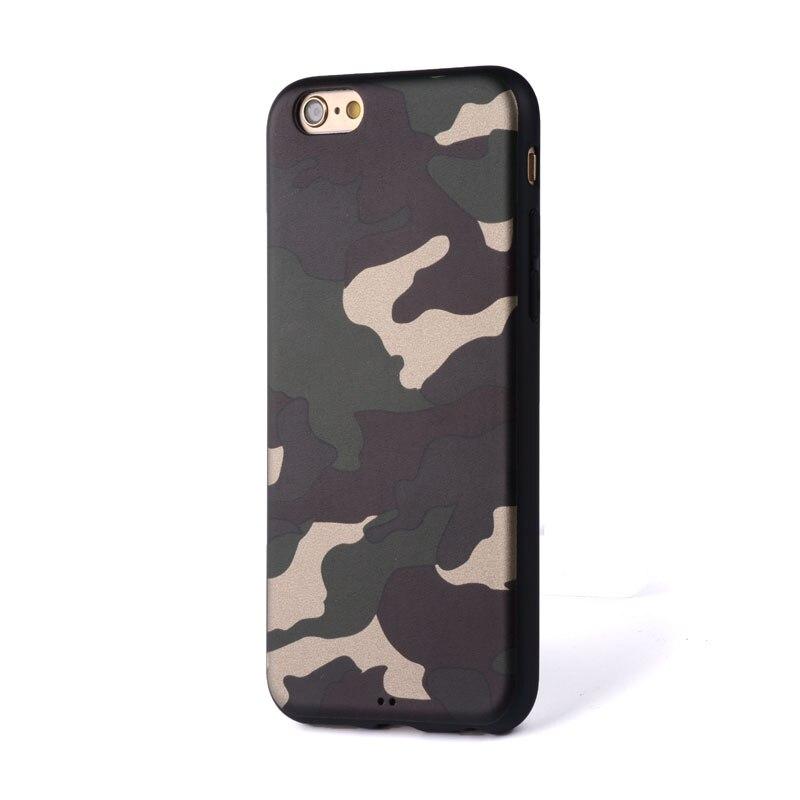 Camuflagem capa funda para iPhone 6 capa de silicone Pesado Grosso TPU  coque macio Da tampa Da Pele para o iphone 6 6 S Um ++ muito bom qualidade  em Casos ... 30efdfcbd69