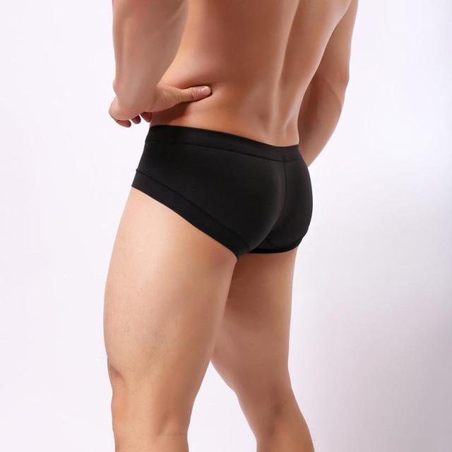Mens Underwear Fashion Underpants Knickers Sexy Mens Shorts Underwear Pant Ropa interior de hombre Y501