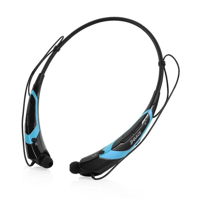 Orginal Marca Stereo Wireless Cuffie Bluetooth V 4.0 in ear Auricolare  Stile sport Laccio per iphone 679d7148e19a