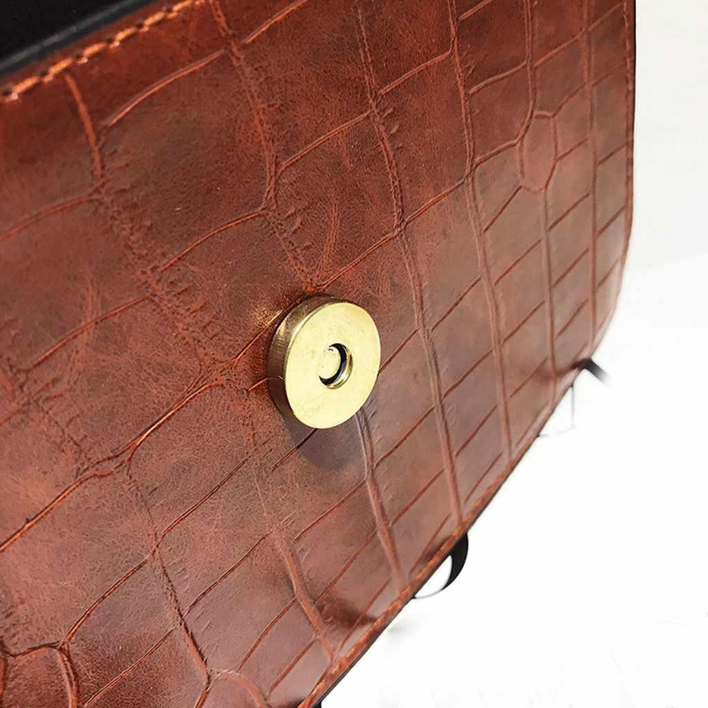 Vintage Metel Lock Crocodile Pattern Women Hand Bags Fashion Small Square Shoulder Messenger Crossbody Bags for Women  #38