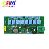 HK POST FREE Wholesale USB 8 Road 10A Offline Time Relay Controller SHT0810 USB Latency