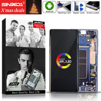 AMOLED 6,4 для SAMSUNG Galaxy Note 9 ЖК дисплей с сенсорным экраном с рамкой N960 для SAMSUNG Note 9 дисплей N960D N950F Note9 lcd @
