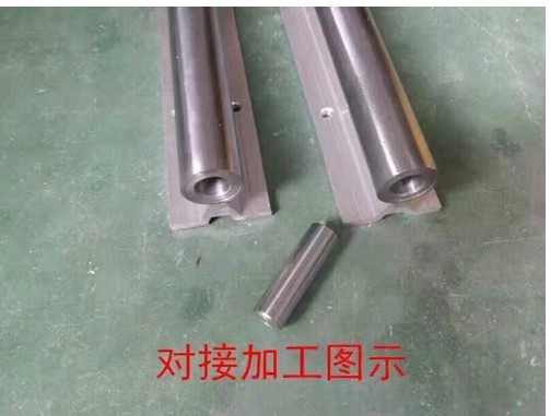 abutting joint linear bearing slide unit 4 SBR16-1200mm +4 pcs  sbr16uu roller linear slide unit r18215232x