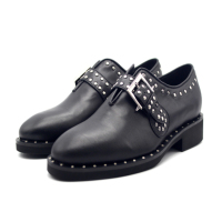 Vintage box rivets modified Mengke men's shoes leather mens dress shoes oxford shoes for men