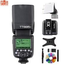 Godox TT685F 2,4G Wireless GN60 HSS 1/8000 s TTL Blitz Speedlite + X1T-F Trigger für Fujifilm Fuji X-Pro2/X-T20/X-T10/X-T1/X-T2