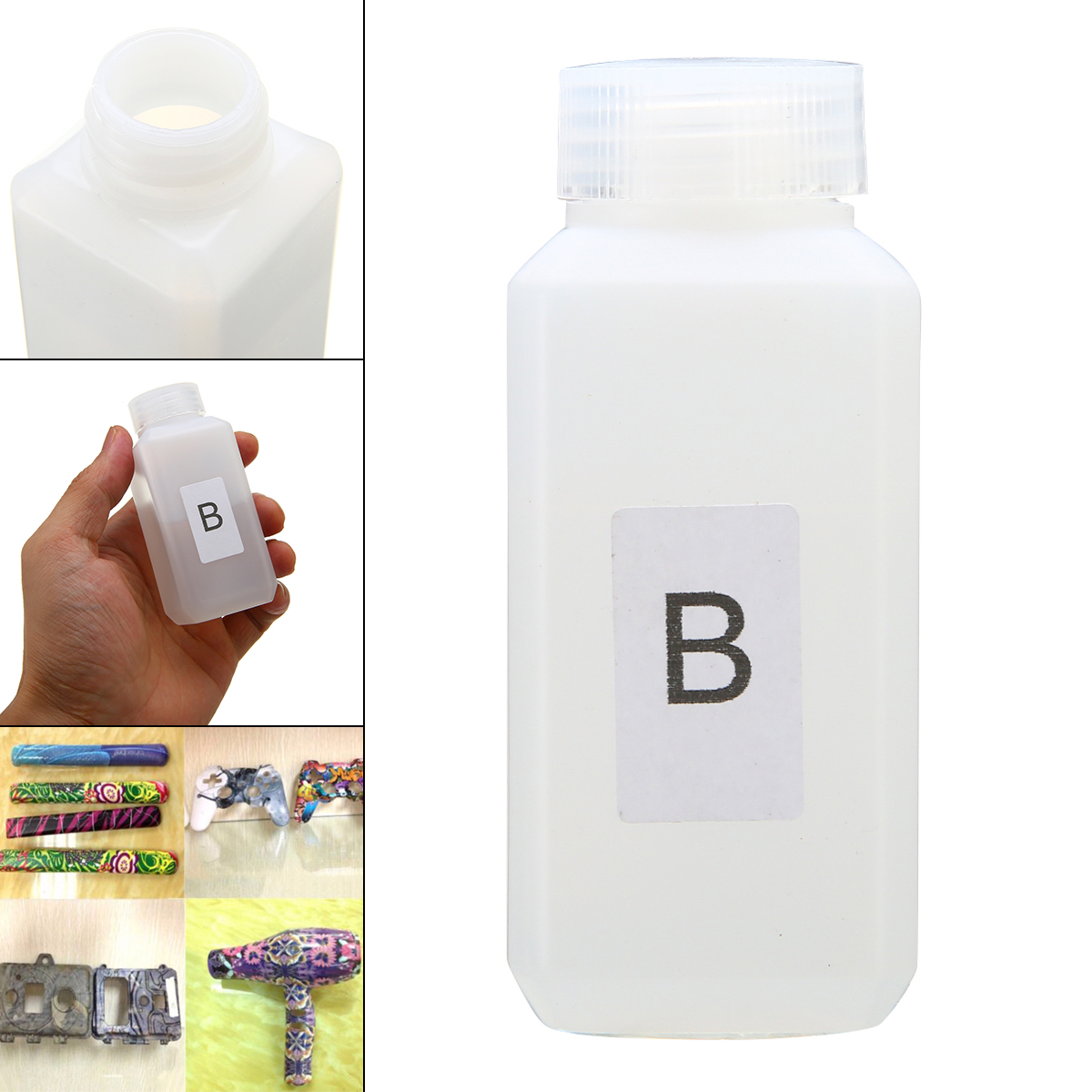 1 Bottle 50ml Activator B Dip Water-transfer Printing Film Activator For Water-transfer Printing Film