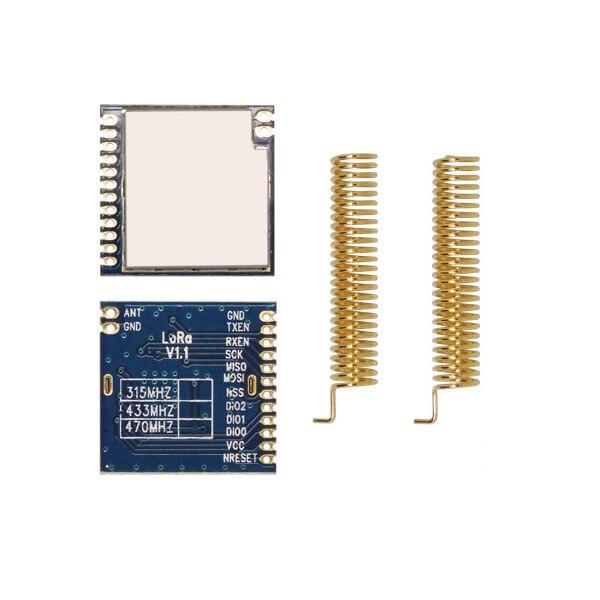 imágenes para 4 unids/lote LoRa1278-4Km 100 mW chip de Alta sensibilidad-139dBm sx1278 Lora módulo Ultra de largo alcance RF Módulo de Transceptor inalámbrico