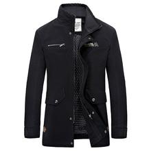 2016 frühling Neue Heiße Schlank Militärischen Stil Jacken Für Männer Gewaschen 100% Baumwolle Jacke Hohe Qualität