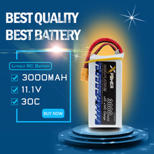 11.1V 3s 3000mAh battery 30C max 35C EC3 plug Xpower lithium batteries for  RC Helicoptes Airplane drone parts