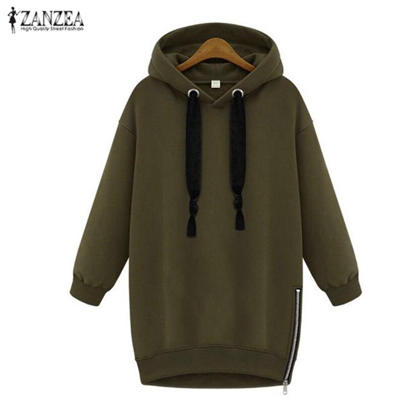 2017 осень женщин пуловеры хлопка случайные свободные хеджирования с капюшоном куртка с длинным рукавом толстовки кофты верхняя одежда плюс размер