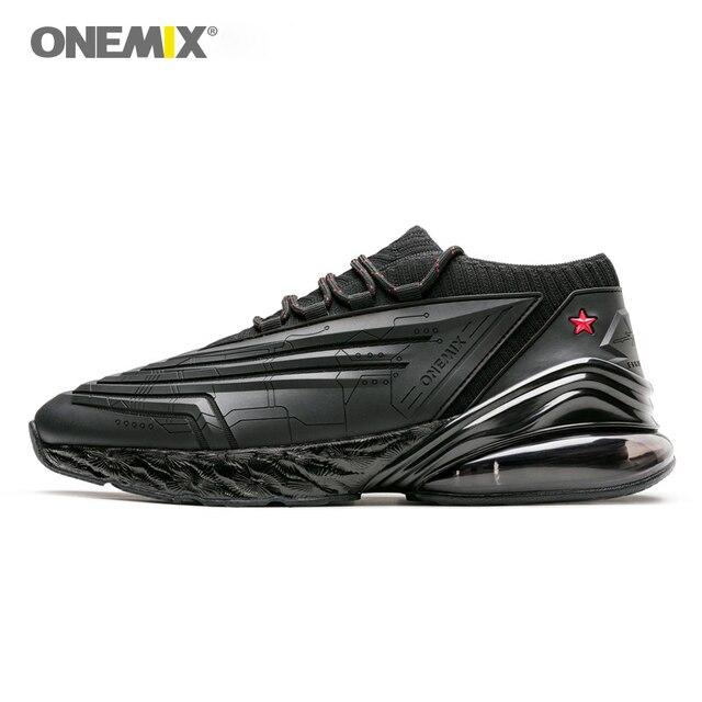 ONEMIX кроссовки для мужчин кроссовки для женщин кожаная обувь shock Абсорбирующая Подушка Мягкая энергия промежуточная подошва Уличная обувь для бега